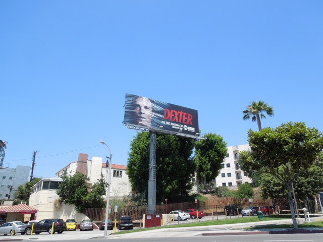 Dexter 8 billboard
