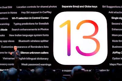 iPhone ، iOS 13