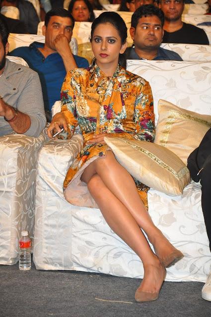 Rakul preet singh at Dhruva Pre Release