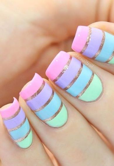 Easy Nail Art Idea and Design for Beginners