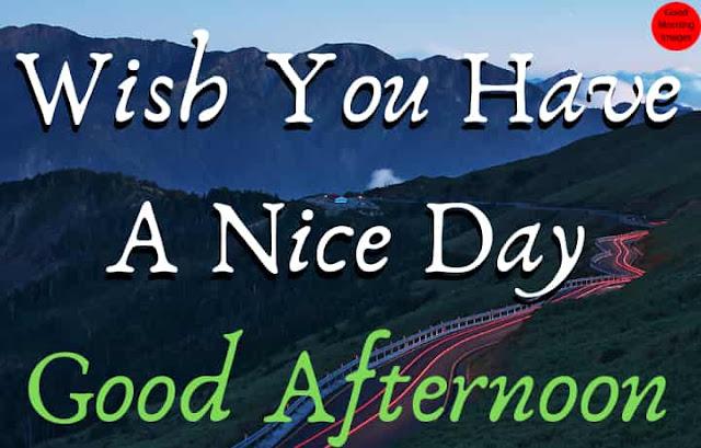 Best Good Afternoon Wish