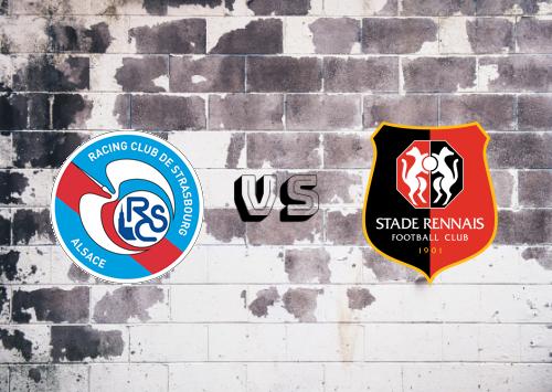 Strasbourg vs Rennes  Resumen