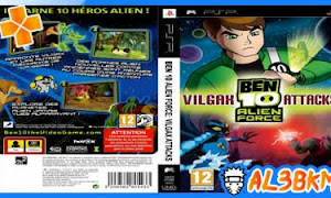 تحميل لعبة Ben 10 Alien Force Vilgax Attacks psp iso مضغوطة لمحاكي ppsspp