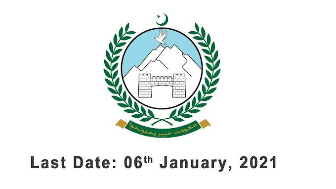 Home And Tribal Affairs Department KPK Peshawar Jobs 2020