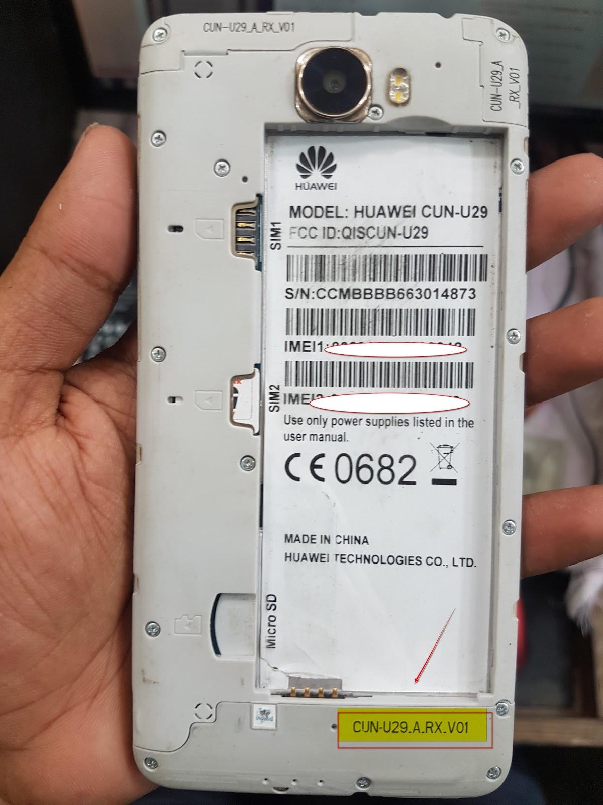 huawei cun u29 arx v01 firmware