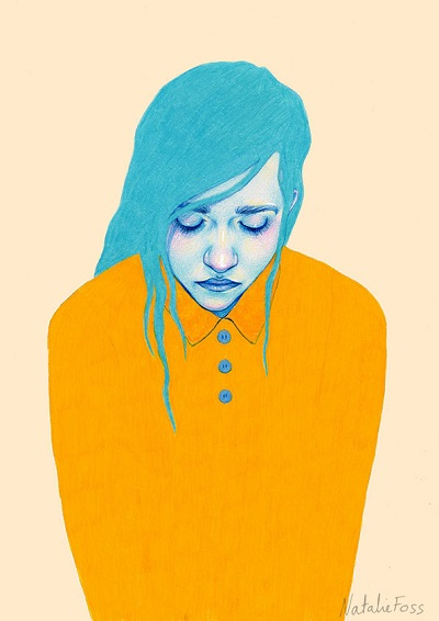 """Illustrations for Krisesentersekretariatets"" por Natalie Foss 