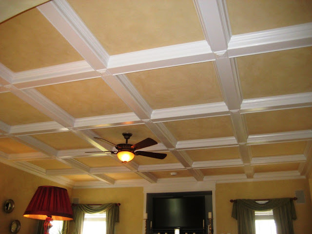 Plafon Kisi (Coffered Ceiling)
