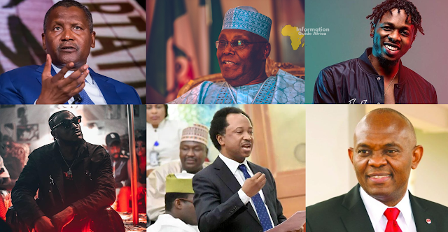 Prominent Nigerians That Have Contributed Monetarily To Fight Against Coronavirus