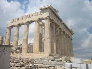 The Parthenon At The Acrocpolis
