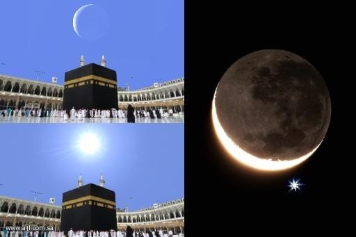 ظاهرة تعامد الشمس والقمر على الكعبة المشرفة