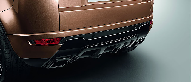 2014 Range Rover Evoque rear detail