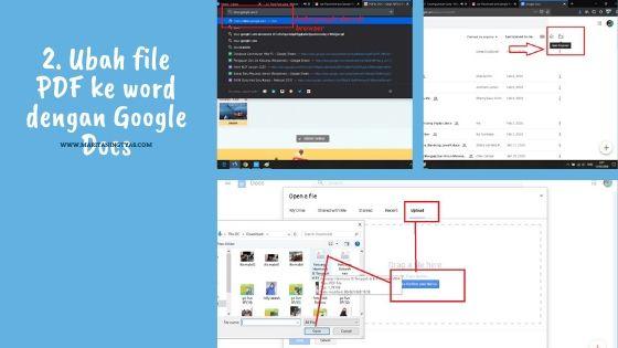 mengubah file pdf ke microsoft word dengan google docs 1