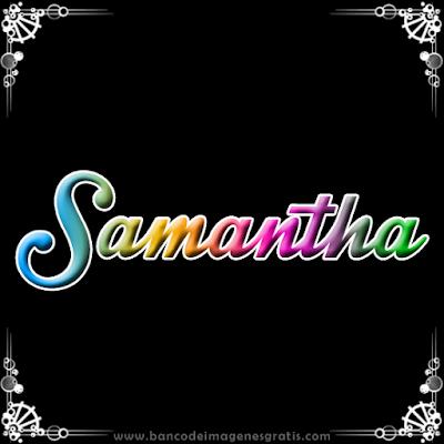 Fondos de pantalla con el nombre samantha