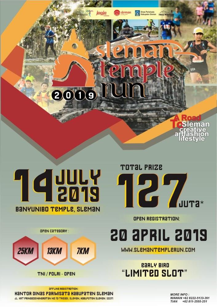 Sleman Temple Run • 2019
