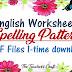 English Spelling Patterns PDF