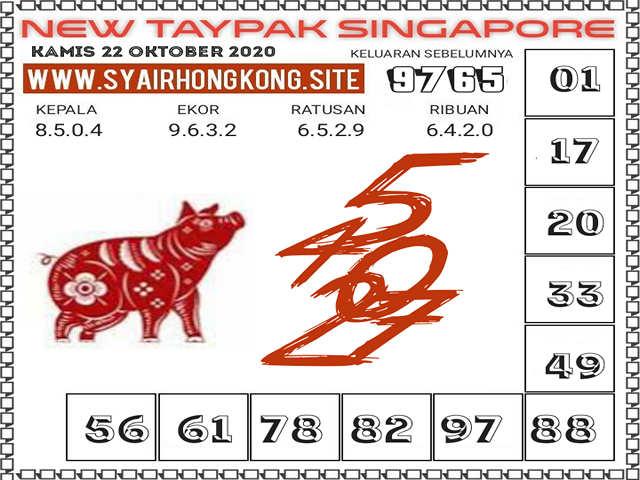 Kode syair Singapore Kamis 22 Oktober 2020 221
