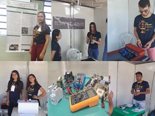 Estudantes do curso técnico eletrônica apresentam trabalhos na VI Feira de Ciências do IFPB/Picuí