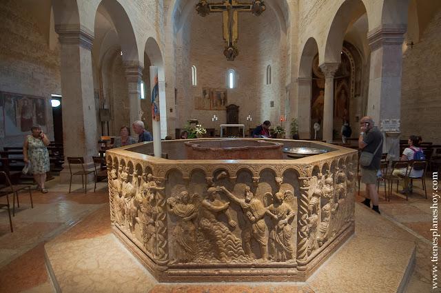 Baptisterio Catedral de Verona