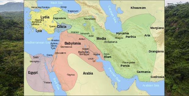 Batas Wilayah Asia Barat dan Keadaan Alamnya