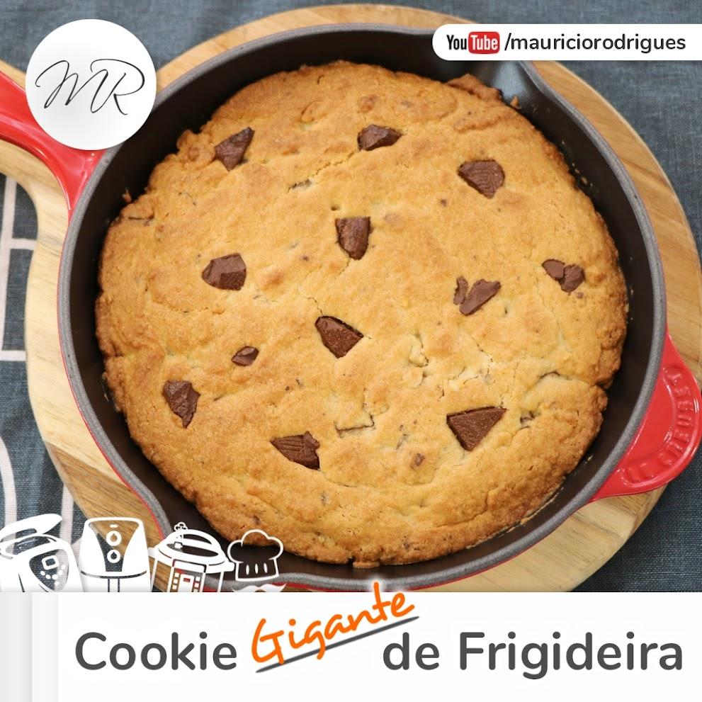 VÍDEO - Cookie Gigante na Frigideira
