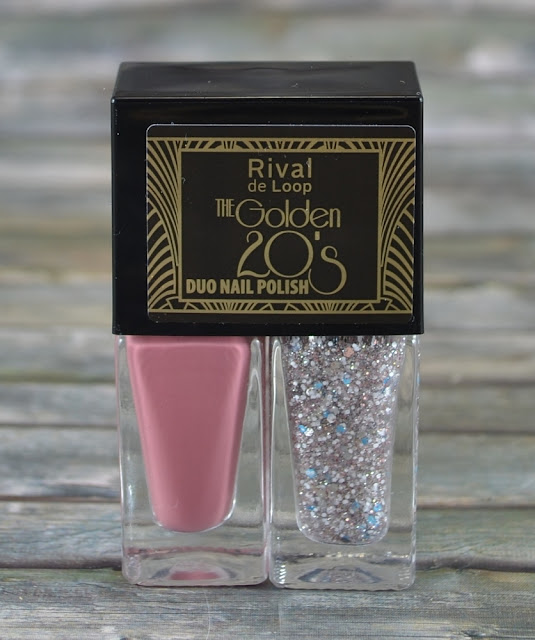 Rival de Loop The Golden 20's LE Duo Nail Polish 02 vintage pink