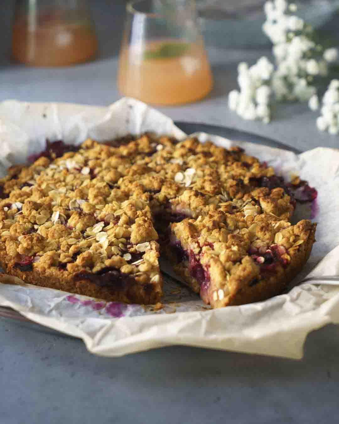 tarte facile, dessert aux fruits , recette rapide , pique nique