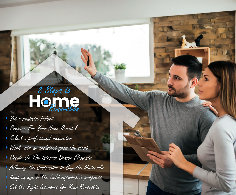 The Eight Steps To A Successful Home Renovation