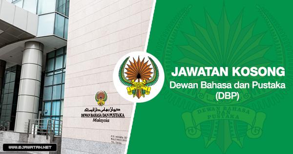 jawatan kosong kerajaan Dewan Bahasa & Pustaka (DBP) 2020