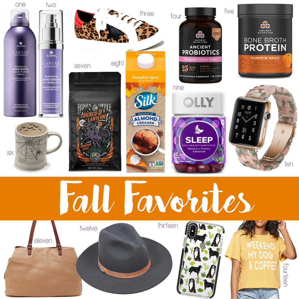 blogger Amanda's OK fall favorites
