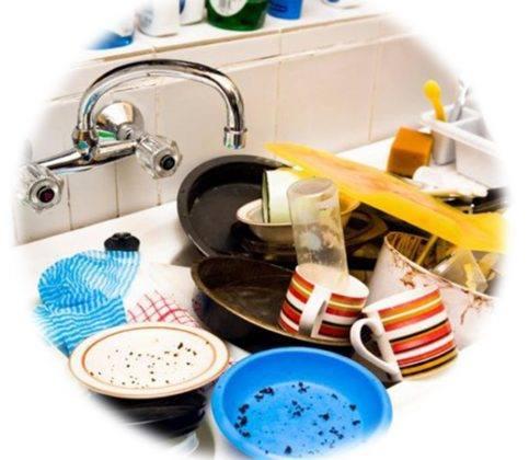 Hiểm họa từ miếng rửa chén