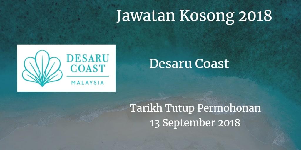 Jawatan Kosong Desaru Coast 13 September 2018