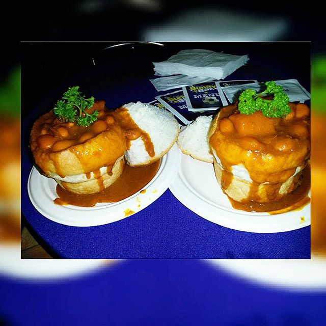 Hollywood Mini Beans Bunny Chow - Durban Food Festival