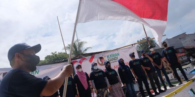 Deklarasi di Makassar, Relawan Kawan Sandi Ingin Indonesia Lebih Baik