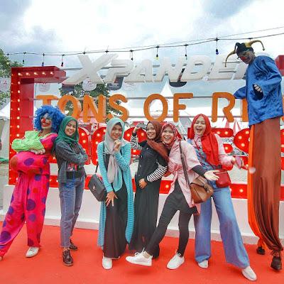 Mitsubishi  ''Xpander Tons of Real Happiness hadir di Medan, Apakah Selanjutnya di Kotamu?
