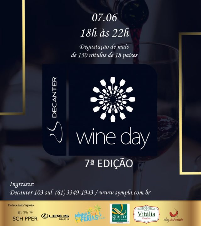 7ª Decanter Wine Day: última oportunidade para adquirir seu ingresso