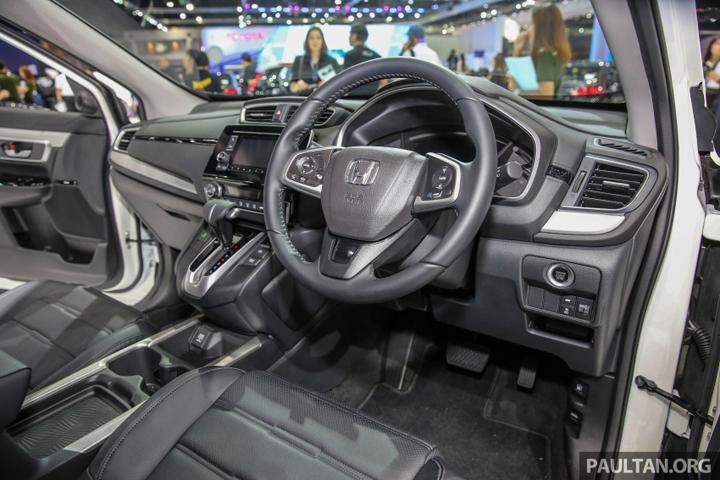 Gambar Honda CRV 2017 Bahagian Dalam