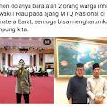 Dua Orang Putra Inhil Ikuti Lomba MTQ di Padang Sumatra Barat
