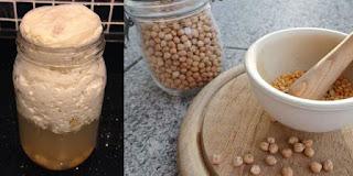nohut mayası tarifi, doğal nohut mayası yapımı - KahveKafeNet