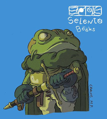 FANART BY SELENTO BOOKS Frog : Chrono Trigger (Square-Enix) 14 Febrero 2020