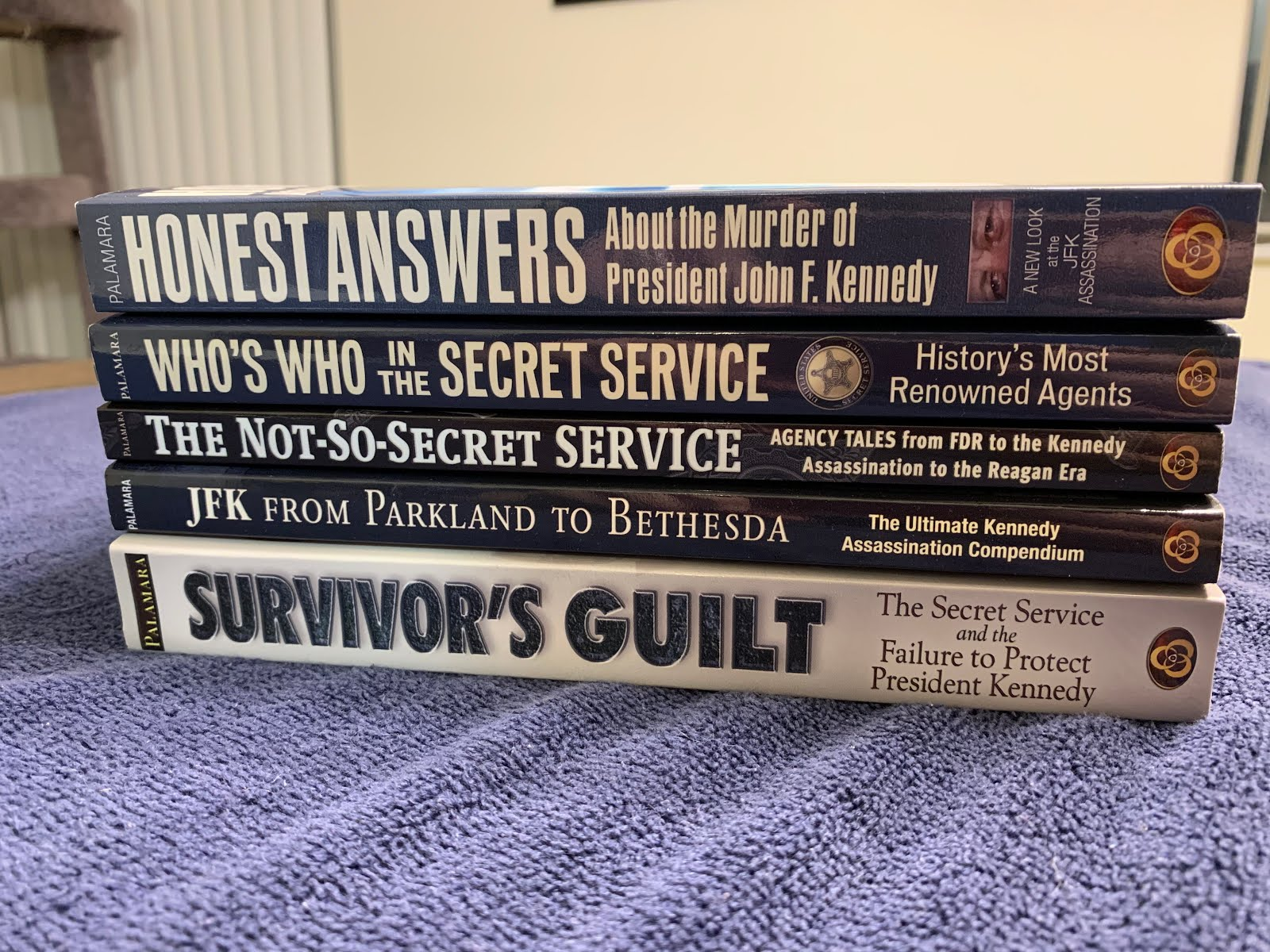 MY FIVE BOOKS