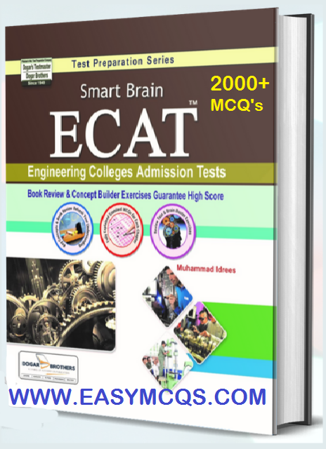 ECAT MCQS Book For Entry Test Preparations Free For Engineering Tests In Pakistan and others