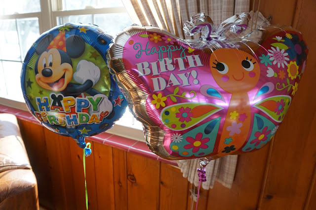 Birthday Balloons for Miss Stella