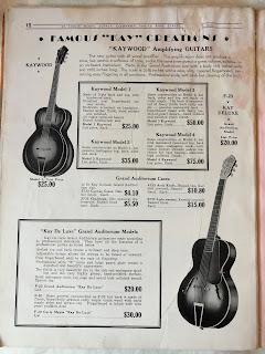 Kay resonator guitars