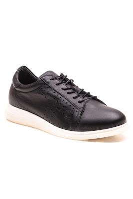 casual siyah bayan ayakkabı