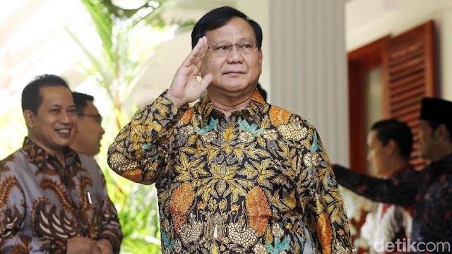 Gerindra: Cawapres Prabowo Inisial A Terungkap Usai Pertemuan Ketum