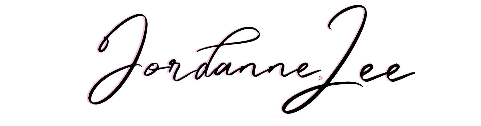 "Blog headers for new blog - jordanneleecreative.blogspot.co.uk that reads ""Jordanne Lee"""