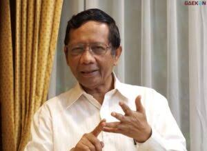 Mahfud MD Beberkan Lima Nama Calon Kapolri yang Disetor ke Presiden