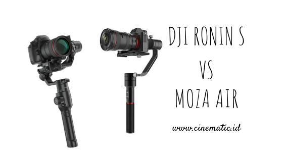 Dji Ronin S VS Moza Air