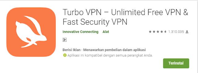 Download aplikasi turbo VPN gratis