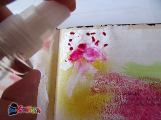 effetti particolari con spray decoart media misters